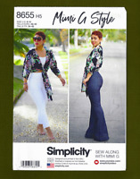 Tie Front Top & Pants Sewing Pattern~Mimi G Style (Sizes 6-14) Simplicity 8655