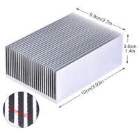 Radiador Aluminio Disipador de Calor para Transistor IC Energía LED 100x69x36mm