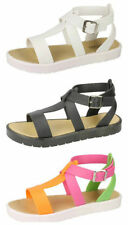 Strappy No Pattern Unbranded Sandals & Beach Shoes for Women