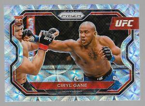 Ciryl Gane 2021 Prizm UFC Rookie RC #184 Premium Set Scope Prizm  #23/99