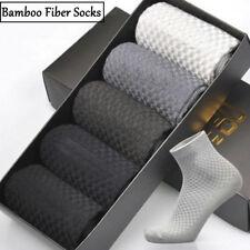 Comfortable Mens Bamboo Fiber Stockings Socks Casual Business Cotton Work Socks