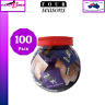 Four Seasons Assorted Bulk Condoms Bucket 100 PK Variety Condoms