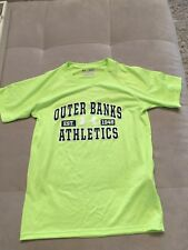 Under Armour Green Shirt Size L Large Youth Heat Gear Short Sleeves