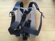 Plaque dorsale Inox WTX Apeks pour wing avec harnais basic