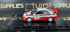 Tarmac Works 1:64 2018 Hobby64 Mitsubishi Lancer Evolution EVO V Sanremo Rally 1
