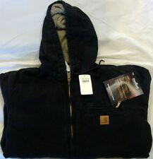 Carhartt J141 Sherpa Lined Sandstone Sierra Jacket - Black - L - Reg