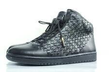 New NIKE Air Jordan SHINE 11.5 leather basketball shoe $400 black Michael hi top