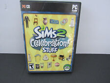 PC Sims 2: Celebration Stuff in Excellent Condition with Manual & Install Code
