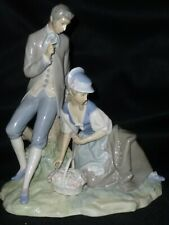 Lladro Couple Pastoral4669 Mint~Breathtaking And Endearing Work~A Classic!