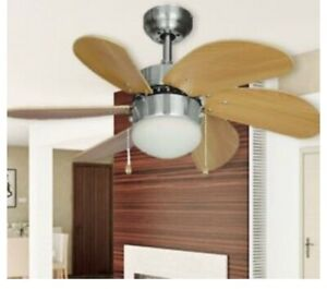 """Year Round Hardware House 30""""6 Blade Monterey Ceiling Fan with a Pull Chain"""