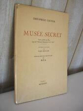 CURIOSA / Théophile Gautier : Musée secret avec pointes sèches de MYA 1932