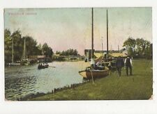 Wroxham Bridge 1907 Postcard 255a