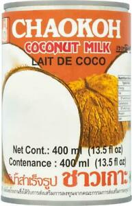(Pack of 6) Chaokoh Coconut Milk 400ml