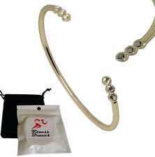 Women Magnetic Copper Bracelet Arthritis Pain Relief w/6 Magnets + Free Pouch