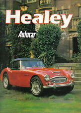Healey Austin 1945-76 2.4 Silverstone Nash 100 3000 Jensen compiled from Autocar