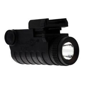 Aimshot Rail Mount Pistol LED Light Lithium Ion Battery 130 Lumens Black TXP