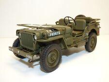 JEEP WILLYS 1/18 US Army WW2