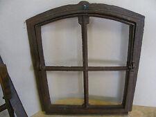 Neu !! Schweres Gussfenster, Stallfenster, Kippfenster,  4 Felder, mit Tür