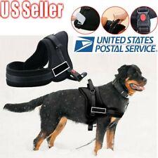 Escape-Proof Nylon Padded Dog Harness Vest - Extra Large Medium Service Pet Dog