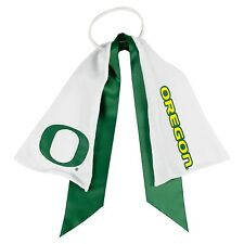 Oregon Ducks Ponytail Holder Hair Tie with Ribbon by Little Earth