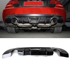 For BMW E92 325i M Sport 08-11 Rear Bumper Diffuser Bodykit Factory Carbon Fiber
