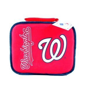 Washington Nationals Sacked Lunchbox Cooler Removable Divider Soft Sided MLB Bag