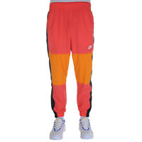 Nike Sportswear Pantalone Uomo BV5387 850 Ember Glow Bright Ceramic Black White
