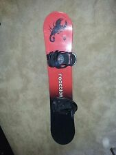 New listing Reaction 139 Snowboard [Scorpion Logo] with Bindings