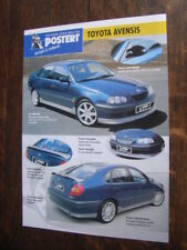 Postert Toyota Avensis Prospekt / Brochure / Depliant, D