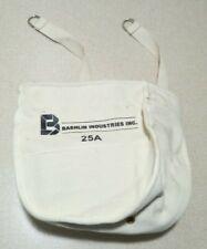 Bashlin Industries Inc 25a Linemans Canvas Bolt Bag Tool Pouch