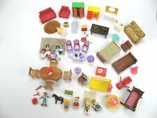 Big Bundle Vintage Dolls House Lundby & Other Furniture & dolls Figures ~ 1970s