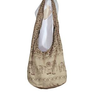 Avarada Thai Cotton Hippie Hobo Sling Crossbody Bag Messenger Purse Bohemian