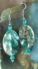 Abalone Shell Dangle Earrings