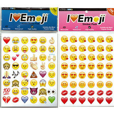 48 Die Cut Emoji Stickers Smile Face/Expression Sticker for Phone Laptop Decor