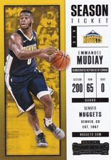 EMMANUEL MUDIAY 2017-18 PANINI CONTENDERS Basketball cartes à collectionner, #93