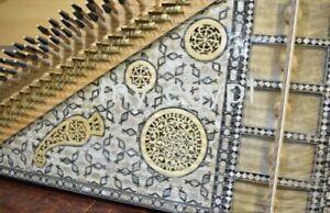 PROFESSIONAL pearl KANUN  Hard case Instrument Kanoon Qanun Qanon Qanoon Kanon