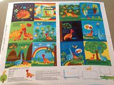 Print fabric(Dinosaur Adventure Soft Book)