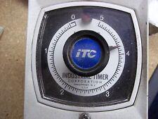 Industrial Timer Company GP-2-5 Min 120 V 60 Hz New Old Stock w/Hardware