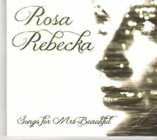 (DM260) Rosa Rebecka, Songs For Mrs. Beautiful - 2012 CD
