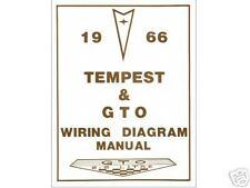 1966 66  GTO/TEMPEST WIRING DIAGRAM  MANUAL