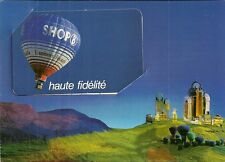 CARTE POSTALE AVIATION MONGOLFIERE CARTE DE FIDELITEPARFUMERIE SHOP 8 TOULON