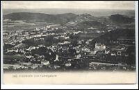 Bad Kissingen Bayern Postkarte 1906 gelaufen Gesamtansicht vom Ludwigsturm aus