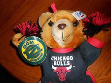 "Chicago Bulls 16"" Bear Cheerleader 1994 Official NBA License - READ DESCRIPTION"