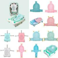 Baby Bath Tub Net Pad Shower Newborn Kids Bath Seat Bathtub Pad Cushion Adjust