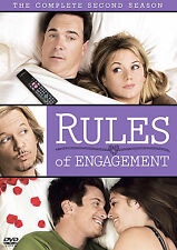 Rules of Engagement - The Complete Second Season (2 DVD set, 2008)  w/Slipcover