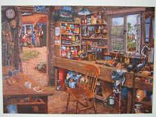 """Puzzle Ravensburger 1000 pièces """" L'atelier de papi"""""""