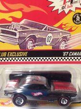 2002 Red Stripe '67 Camaro Rlc Hot Wheels Redline Club 1 of 5000