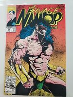THE SAVAGE NAMOR, THE SUB-MARINER #26 (1992) 1ST MARVEL COVER & ART by JAE LEE!