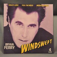 "Bryan FERRY Windswept Orig UK 1985 7"" 4 Trk EP VINYL Record w/ Pic Slv NEW ROXY"