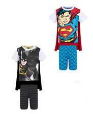 Batman vs.Superman Kinder Jungen Shorty Pyjama Pyjama Gr.104-140 Nachtwäsche ne
